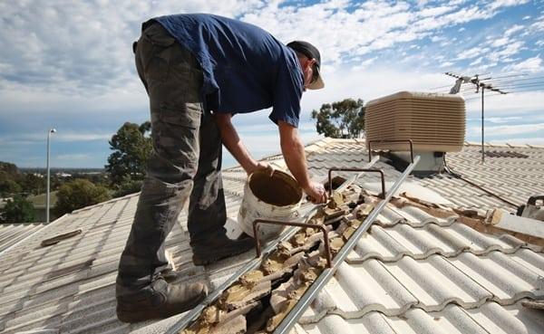 Roof restoration ridge capping