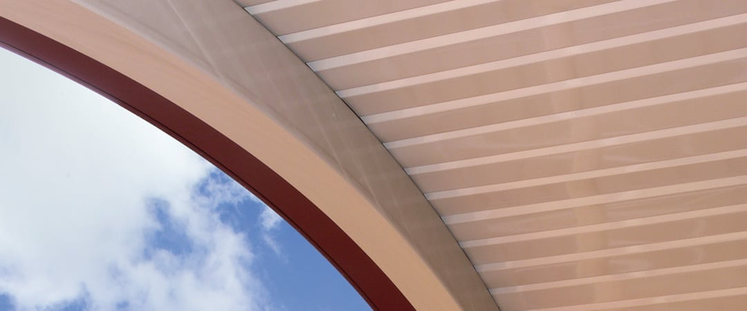 Stratco Curved Clearspan