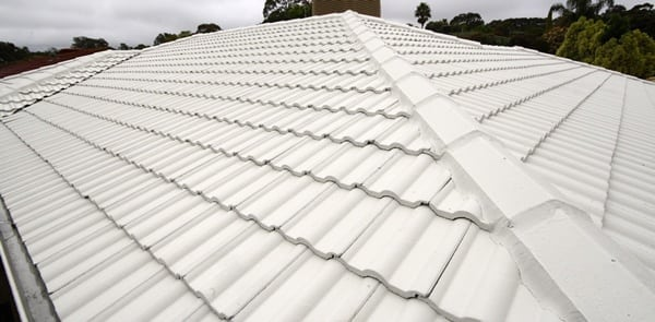 Tiled roof restoration