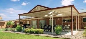 Multispan roof