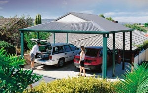 Carport Dutch Gable