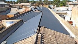 Asbestos roof conversion