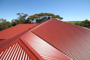 Colorbond Roof installation