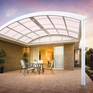 Curved Roof Patio