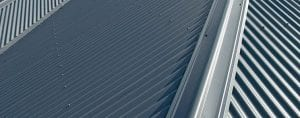 Colorbond steel roof grey